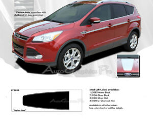 2013 2019 Ford Escape Hood Decals Vinyl Graphics Capture 3m Pro Stripes