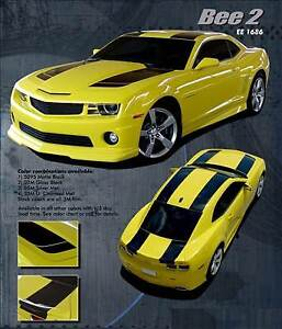 Camaro 2010 2013 Rally Racing Transformers Style Stripes 3m Pro Decal Graphics