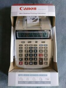 Canon Mini Desktop Printing Calculator P23 dh V Brand New In Box