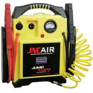 Jump N Carry 12v Battery Starter Booster W Onboard Air Compressor 1700 Peak Amp