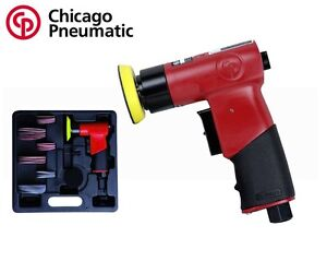 Chicago Pneumatic 2 3 Mini Random Orbital Air Sander Kit Cp 7200s