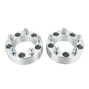 2x 5x139 7mm For 2005 10 Dodge Dakota 51mm Wheel Spacers Adapters 9 16 Lug Nuts