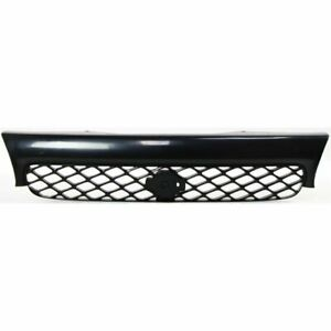 Grille Assembly For 96 98 Nissan Quest Black With Emblem Provision