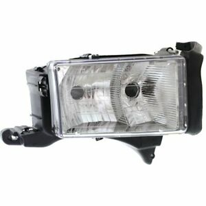 Headlight For 99 2001 Dodge Ram 1500 Right W Sport Package Clear Lens Composite