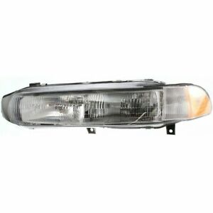 Headlight For 97 98 Mitsubishi Galant Left With Bulb Clear Lens Composite Type