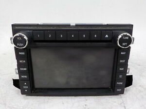 2011 Ford Expedition Radio Receiver Navigation Cd Player Sirius Bl1t18k931bb Oem