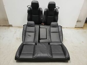 2019 Dodge Challenger Hellcat Seats Front Rear Left Right Black Leather Oem