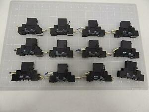 Lot Of 12 Omron G3rz 201sln Solid State Relays W Base T58053