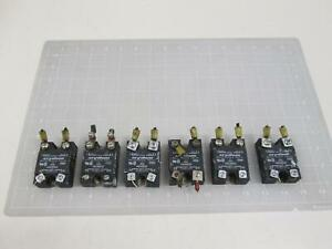 Lot Of 6 Crydom Hd4850 Solid State Relay T62001