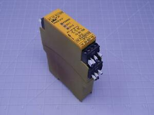 Pilz Pnoz E1p 774130 132503 Safety Relay Module 24 Vdc 20 25 T130410