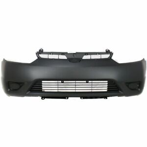 Bumper Cover For 2006 2008 Honda Civic Coupe Front Plastic Paint To Match Capa