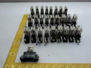 Lot Of 27 Omron Vy2 Relays T18599