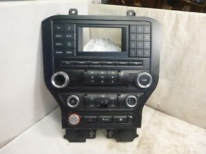 15 16 17 Ford Mustang Radio Face Plate Control Panel Oem Fr3t 18e243 Ec Nyd13