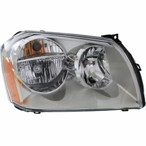 Headlight For 2005 2006 2007 Dodge Magnum Right Halogen With Bulb