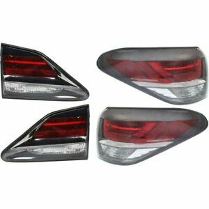 Right left Side Inside New Tail Light Lamp Kit Lh Rh For Lexus Rx350 Rx450h 15