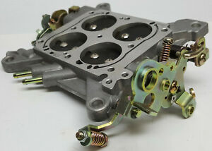 Holley 600 Cfm Double Pumper Complete Base Plate Assembly W 1 560 Butterflies