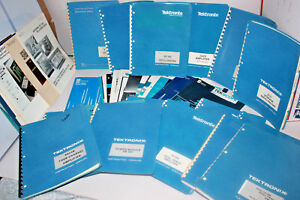 Huge Lot Vintage Tektronix Manuals Oscilloscope Spectrum Analyzer Instruction