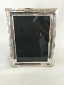 Jr Sterling Silver Picture Frame 8 1 2 By 6 1 2