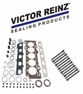 Victor Reinz Head Gasket Set W 12 Head Bolts For Volvo S40 V50 2 4 Non Turbo