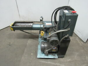 Polymer Machine Corp Double Cut 68 Mkii 6 Auger Feed Granulator 5hp 460v