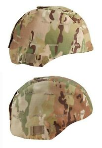 US Army MICH Military Helmet Cover OCP Scorpion Multicam Camo Camouflage F5510