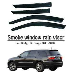Vent Window Visor Sun Shade For Dodge Durango 2011 2012 2013 2014 2015 2016 2017