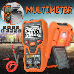Digital Multimeter Ac dc Voltage Meter 6000 Counts True rms Auto Range