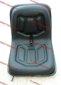Lawn Garden Seat Slide Tracks lgs100bl Metal Seat Pan For Ford New Holland