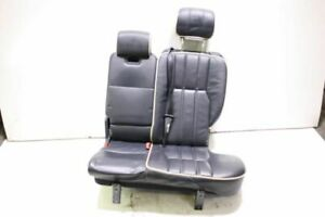 04 Land Range Rover L322 Rear Left Driver Side And Middle Leather Seat