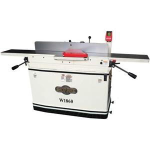 Shop Fox 8 X 76 Parallelogram Jointer With Spiralhead Mobile Base W1860