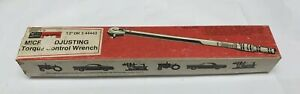 Vintage Craftsman 1 2 Drive Micro Adjusting Torque Wrench 44443 Oil Port 1970s