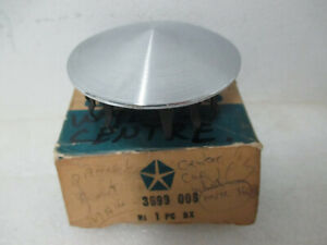 Mopar Nos 1975 78 Plymouth Dodge B body Rally Wheel Cap Center 3699008