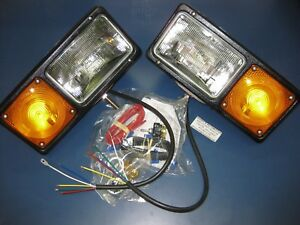 Grote Per Lux Snowplow Truck Plow Light Headlight Lamp Park Turn Signal 642614