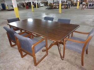 Conference Table And 6 Chairs With Love Seat