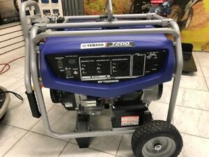 Yamaha Ef7200de Generator Contractors Serious Home Backup