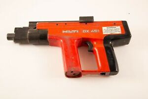 Hilti Dx 451 Powder Actuated Fastening Nail Gun Tool