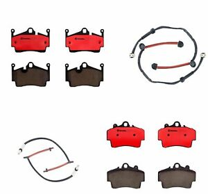 Front And Rear Brembo Brake Pads Sets Kit For Porsche Boxster Cayman 2 7l H6