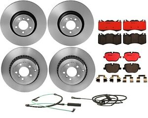 Front Rear Brembo Brake Kit Disc Rotors Ceramic Pad For Range Rover Supercharged