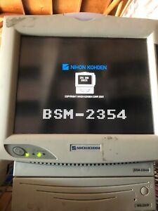 Nihon Kohden Bsm 2354a Vital Signs Monitor With Option Ws231p