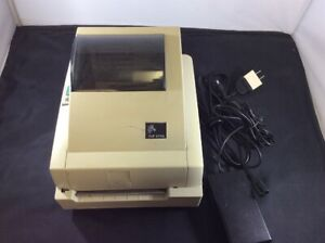 Eltron Zebra Tlp2742 Pos Thermal Transfer Barcode Printer Parallel Serial Yellow