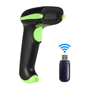 1d 2d 2 4g Wireless Wired Barcode Scanner Bar Code Reader For Pos System Q1u1