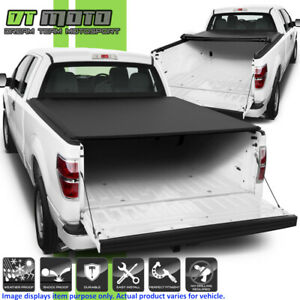Soft Roll Up Tonneau Cover For 2004 2014 Ford F150 8 Feet 96 Styleside Bed