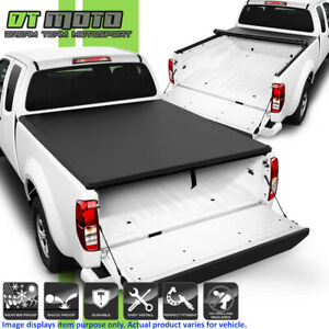 Premium Soft Roll Up Tonneau Cover For 2004 2015 Nissan Frontier 6ft 72 Bed