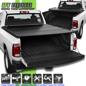 2009 2018 Dodge Ram 1500 10 18 2500 3500 6 5ft Bed Hard Tri Fold Tonneau Cover
