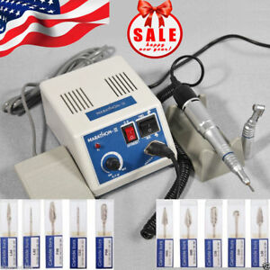 Dental Marathon Polishing Micromotor Contra Angle Straight Handpiece Burs Drills
