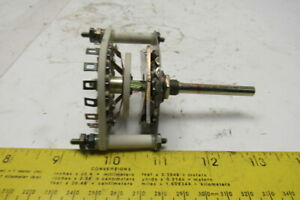 Centralab Jv 9033 2 Pole 2 8 Position Rotary Switch