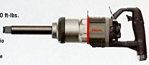 Proto J199wd 6 1 inch Drive Inline Air Impact Wrench 6 Extended Anvil 318 hg