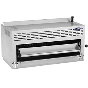 Atosa Us Cookrite Atsb 36 Commercial Cheese Melter Salamander Broiler Infrared