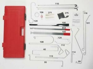 Lock Tech Lti Grand Master Emergency Lockout Automotive Entry Unlock Kit 1000