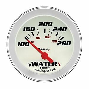 Equus 8262 8000 Series Gauge Water Temperature